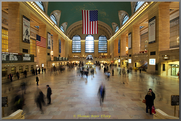 Grand Central afternoon rush